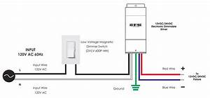 Lutron Dvlv-600p Magnetic Dimmable Switch
