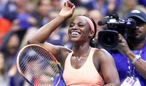 us open 2017 sloane stephens hails venus williams after stunning win tennis sport express