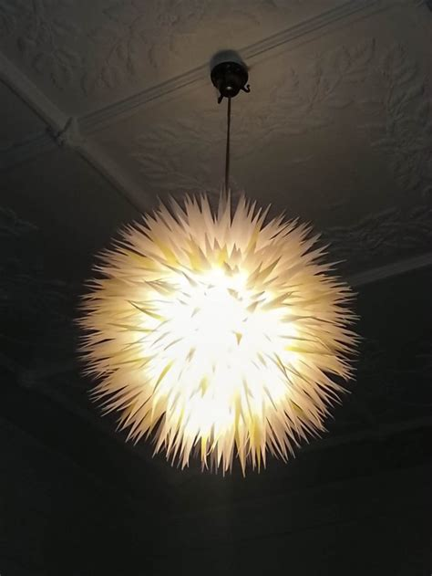 outstandingly creative handmade paper lampshades