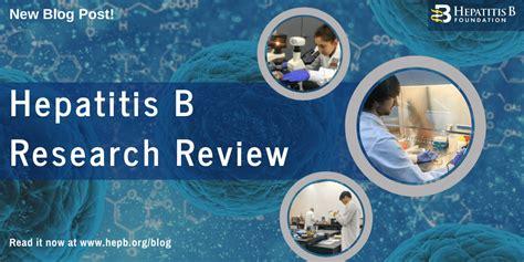 hepatitis  research review hepatitis  foundation