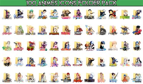 Anime Folder Icons Free Summer 2013 Anime Folder Icon Pack Newhairstylesformen2014