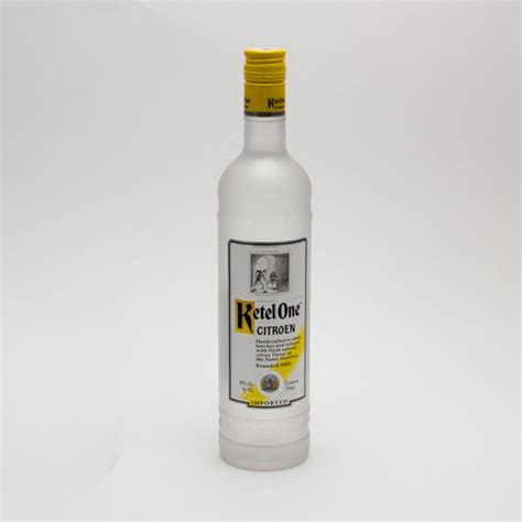 Citroen Vodka by Ketel One Citroen Vodka 750ml Wine And Liquor