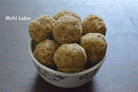 methi ladoo methi dink laddu recipe maharashtrian recipes