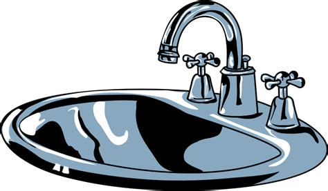 kitchen sink with faucet clipart sink
