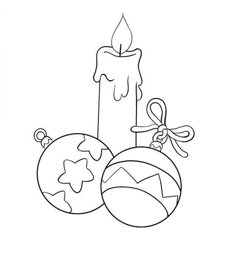 candela natalizia da colorare addobbi di natale da stare e colorare foto 3 40 mamma