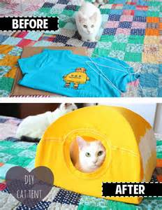 cat tent diy the bouncy mutt diy cat tent yes