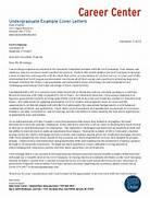 Undergraduate Student Example Cover Letters Finance Intern Cover Letter Website Resume Cover Letter 17 Best Ideas About Cover Letter For Resume On Pinterest Cover Letter Sample UVA Career Center