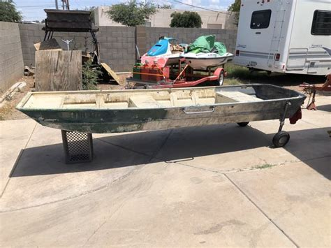 12 Foot Flat Bottom Boat As Is No Paperwork For Sale In
