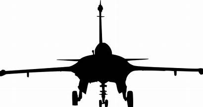 Silhouette Fighter Plane Jet Transparent Drawing Clipart