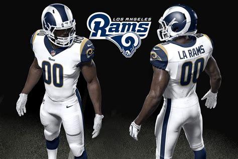 la rams unveil uniforms   turf show times