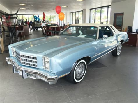 1976 Chevrolet Monte Carlo by Seller Of Classic Cars 1976 Chevrolet Monte Carlo Blue