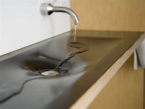 What Material Are Bathroom Sinks Made Of Minarc Rubbish Sink Contemporary Bathroom Sinks Portland