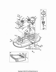 Troy Bilt 13wn77ks011 Pony  2011  Parts Diagram For Mower