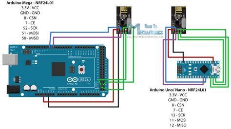 Nrfl Arduino Tutorial Circuit Schematic