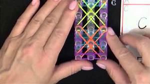Bracelet Avec Elastique : bracelet toile de mer rainbow loom france youtube ~ Melissatoandfro.com Idées de Décoration
