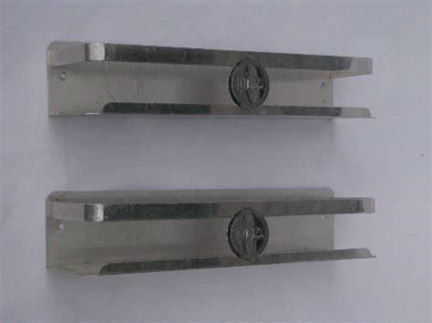 Aluminum Spice Rack by Mid Century Vintage Aluminum Kitchen Spice Racks Wall