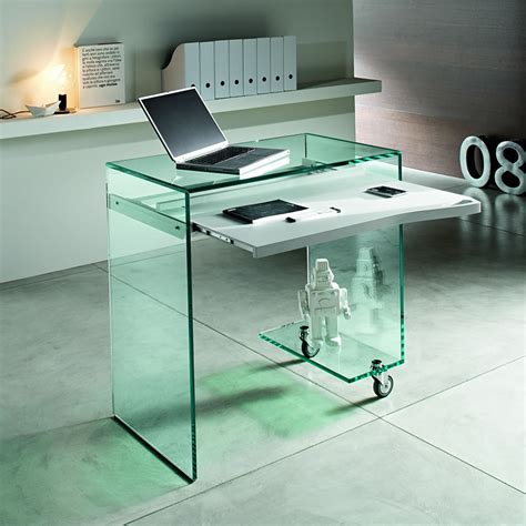 glass top computer desk why glass computer desks are the trend of this year