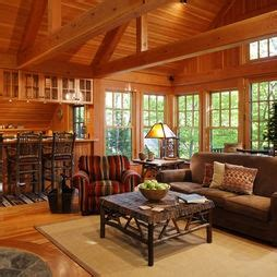 Country Living Rooms Houzz by Living Room Lake Cabin Houzz Vacation Cottage