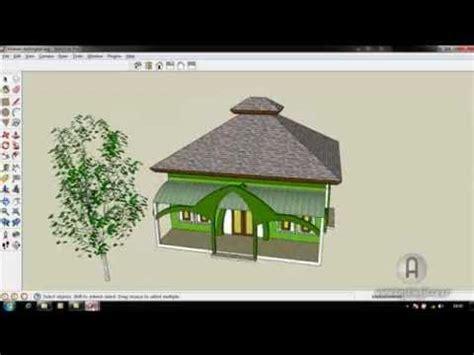 Cara Membuat Atap Limasan Dengan Sketchup Argajogja