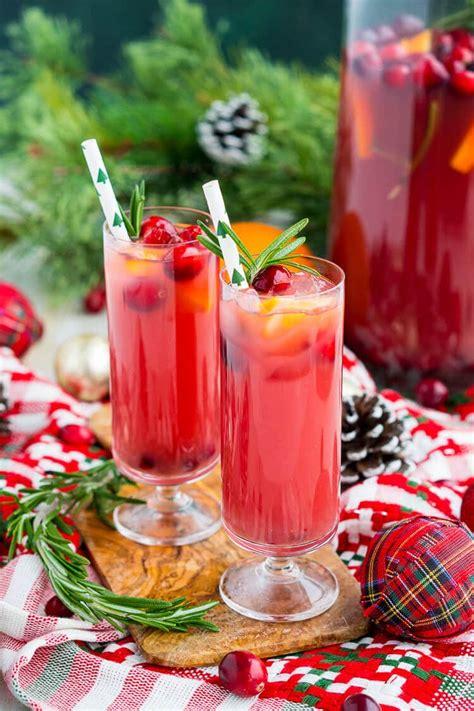 christmas punch recipe boozy or not sugar soul