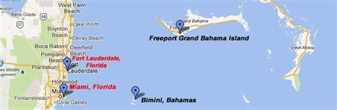 maps  bimini  freeport bahamas