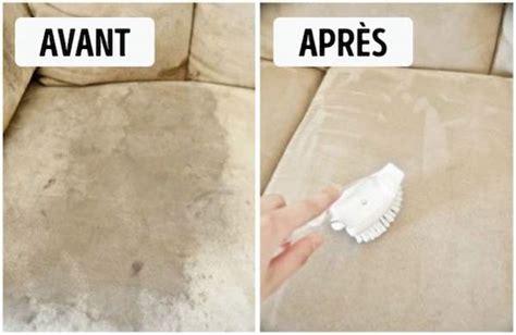 nettoyer un canap en tissu avec du bicarbonate de soude 10 astuces géniales pour tout nettoyer à la maison sans se