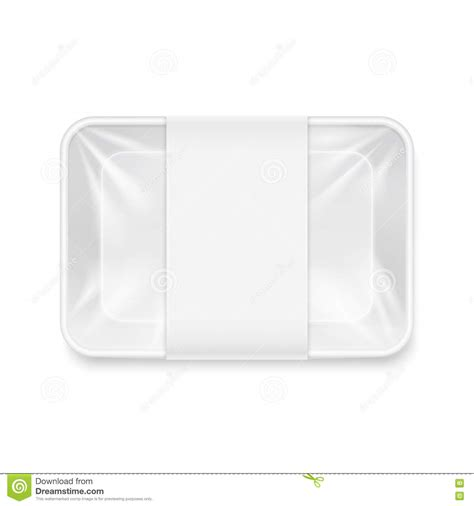 This mockup can be used to display the label of salmon fish meat label design, tuna, cod, trout, sardine etc. White Transparent Empty Disposable Plastic Food Tray ...