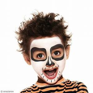 Maquillage Squelette Facile : maquillage squelette gar on facile id es et conseils ~ Dode.kayakingforconservation.com Idées de Décoration