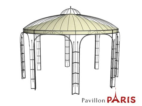 metall pavillon rund pavillon metall rund gartenlaube ausgefallen sch 246 ner