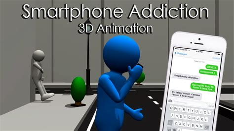 smartphone addiction  animated awareness campaign youtube