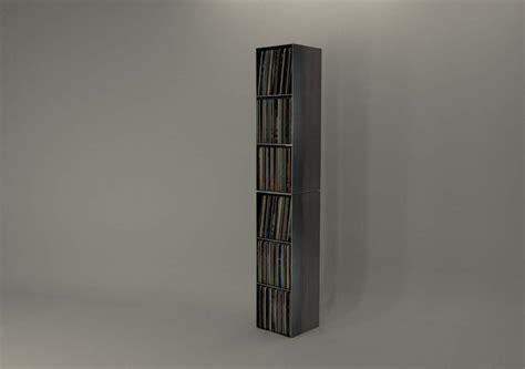 Design Metallmoebel Schallplattenregal