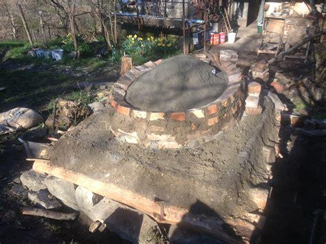 cupola per forno a legna costruzione forno a legna appunto selvatico