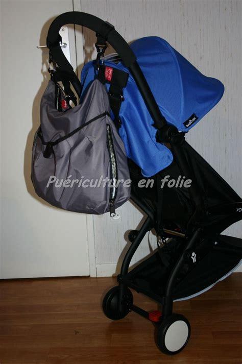 la poussette ne bascule pas m 234 me avec un sac 224 langer accroch 233 au guidon babyzen yoyo baby