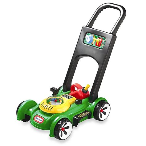 tikes role play gas   mower greenblack diy