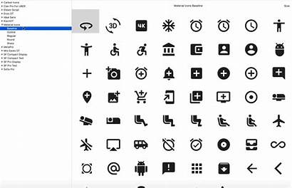 Material Icons Google Fonts Icon Issue User