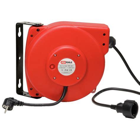enrouleur cable electrique 150 4221 enrouleur de c 226 ble 233 lectrique mural 3x2 5mm 178 x20m outillage ks tools