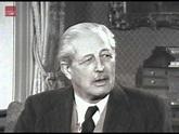 Harold Macmillan giving an Interview on his 70th birthday ...