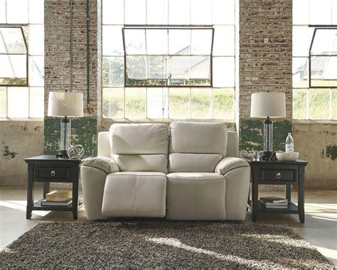 ashley valeton reclining sofa valeton cream reclining loveseat from ashley u7350086