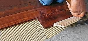 Carrelage Ancien Leroy Merlin : poser un parquet en teck ~ Melissatoandfro.com Idées de Décoration
