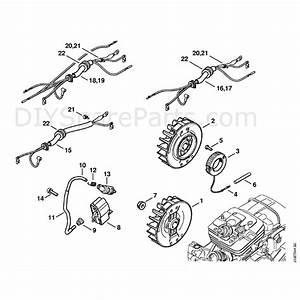 Stihl Ms 361 Chainsaw  Ms361  Parts Diagram  Ignition