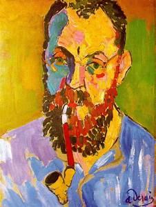 Portrait of Matisse, 1905 - Andre Derain - WikiArt.org