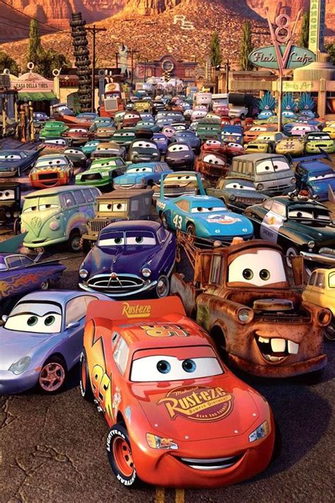 Car Wallpapers Cars Disney by Cars Poster Rt 66 And Cars Disney Cars Disney