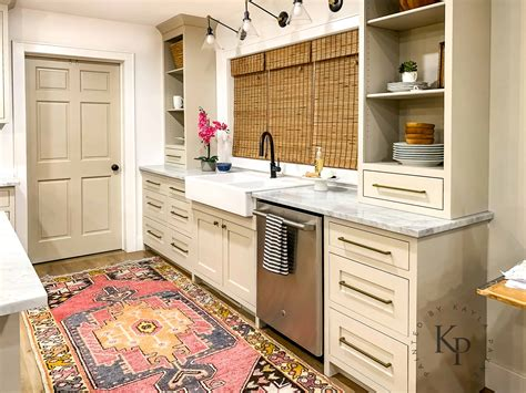 Revere Pewter Kitchen Cabinets Painted  Kayla Payne