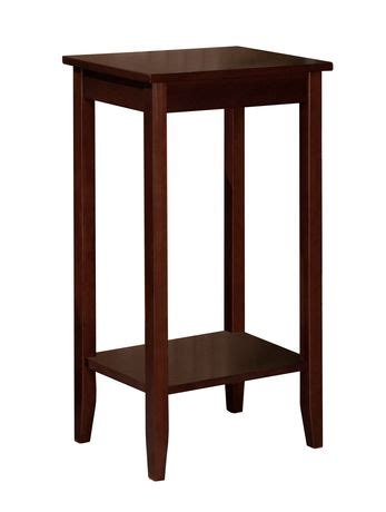 dhp rosewood tall end table walmart ca