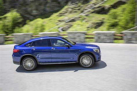 And with the greatest suitability for everyday use the. Chop-top SUV | 2017 Mercedes-Benz GLC 250 4MATIC Coupe Review - carmagram