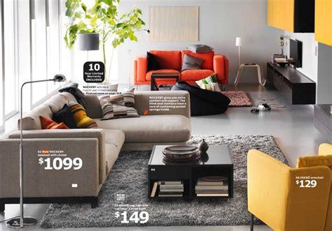 nockeby loveseat  chaise ikea catalog  living