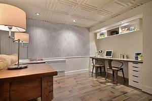 basement ceiling ideas how to convert your basement into With what kind of paint to use on kitchen cabinets for superhero 3d wall art