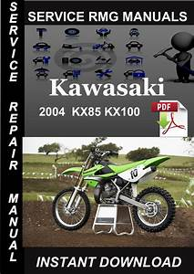 2004 Kawasaki Kx85 Kx100 Service Repair Manual Download