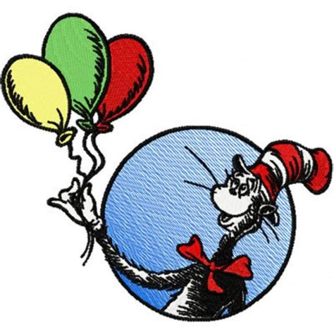 cat in the hat balloons cat in the hat balloons applique designs i own