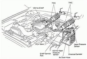 1997 Camry Engine Diagram